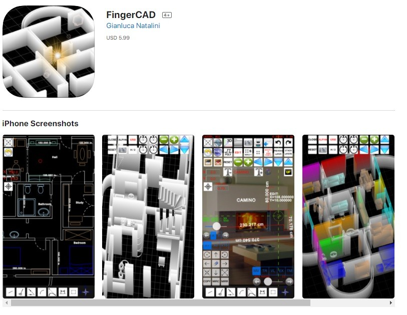 FingerCAD فينجر كاد