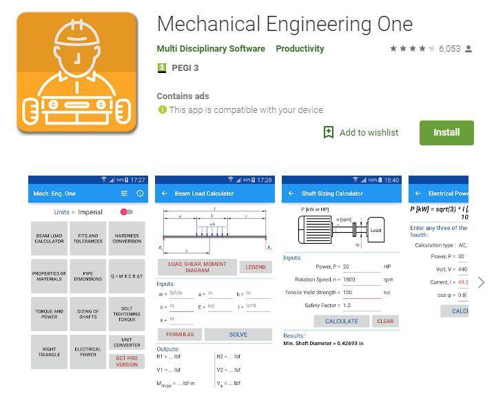Mechanical Engineering One ميكانيكال انجنير