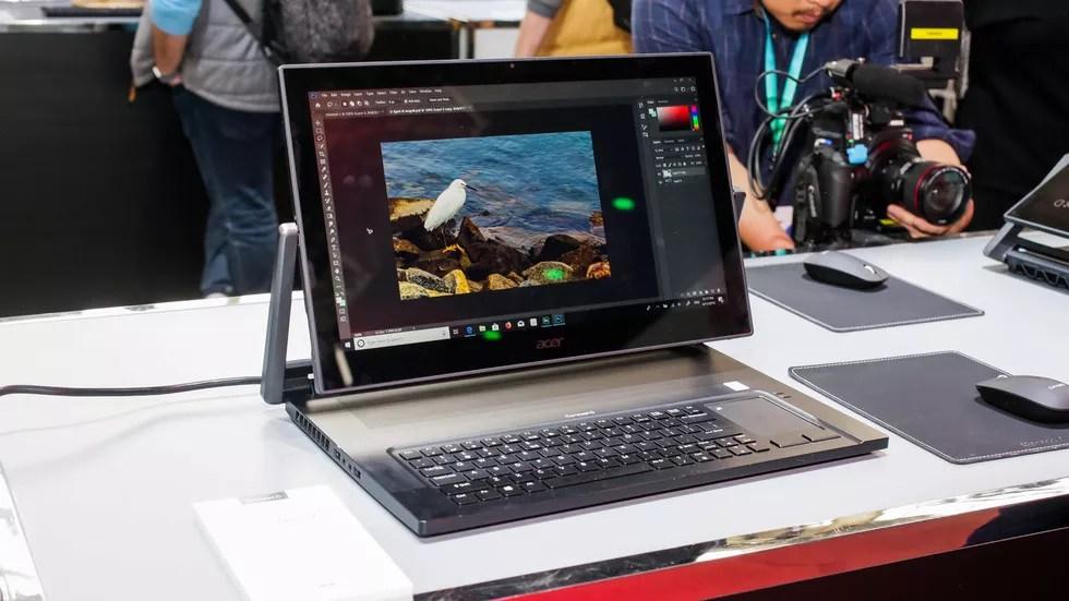 حاسب  2× 1 تحت الإنتاج من ايسر يحمل  اسم دي 9