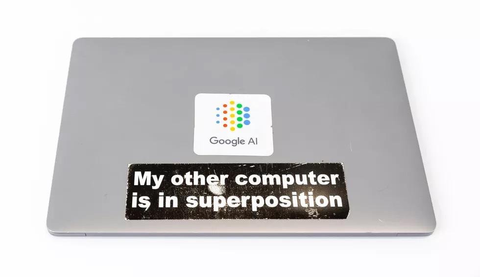 ملصق جوجل الحوسبة الكمية